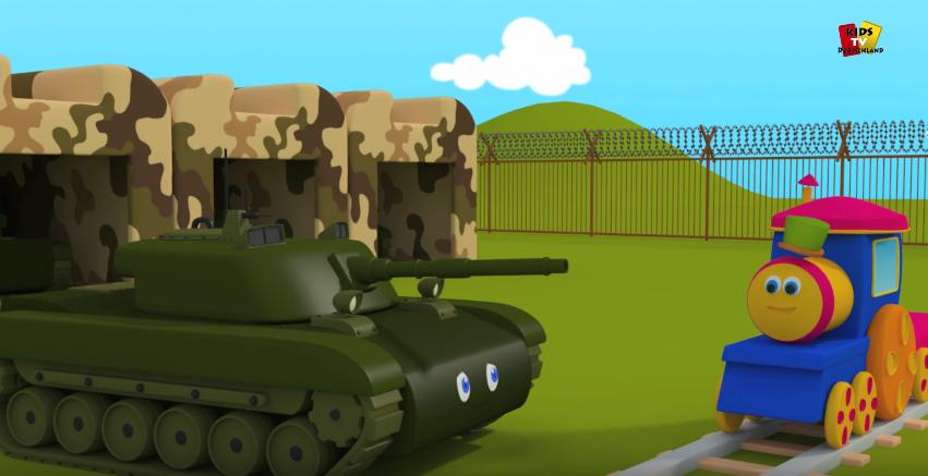 Kriegsvorbereitung im Kinderzimmer?